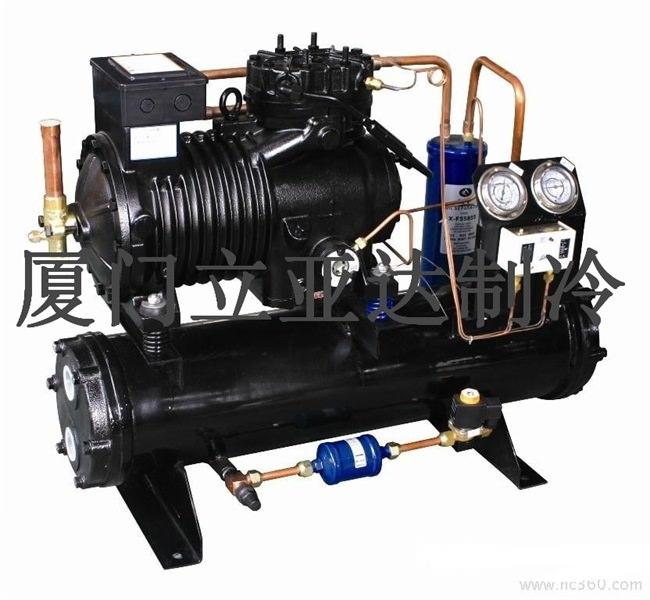 谷轮水冷中低温涡旋冷凝机组