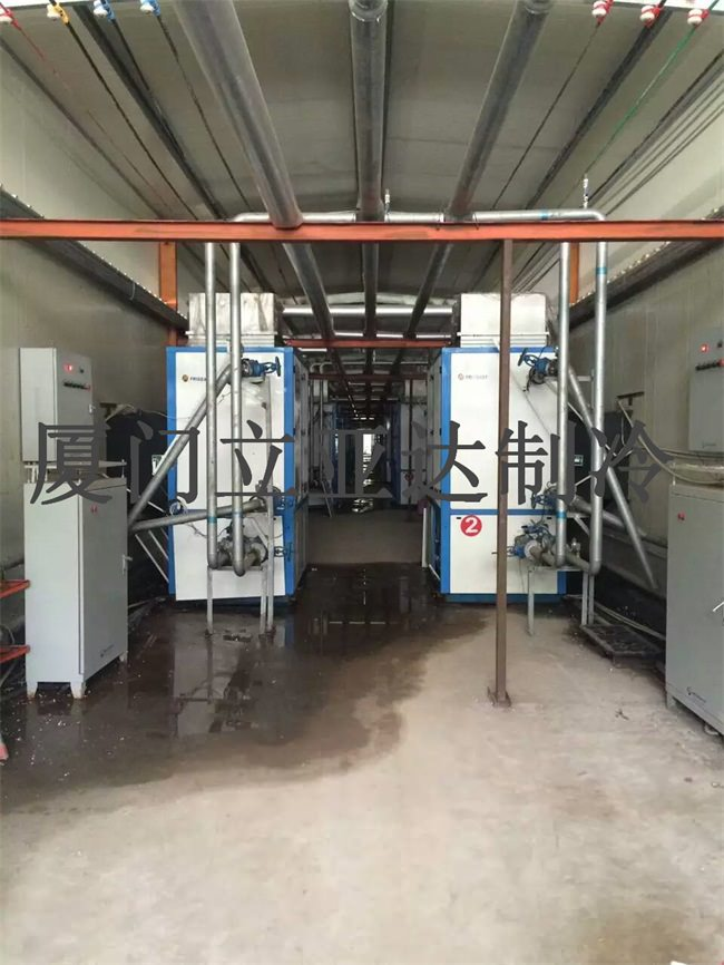 食品厂制冷机组安装