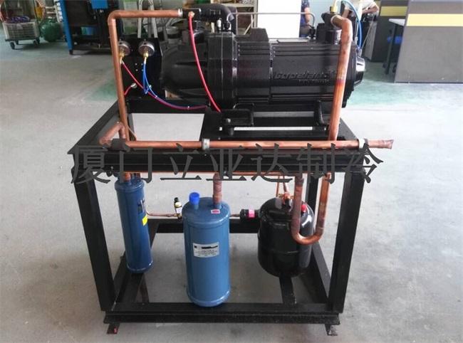 谷轮半封闭涡旋制冷机组制作安装